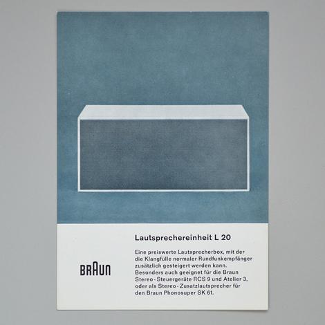 Braun product cards