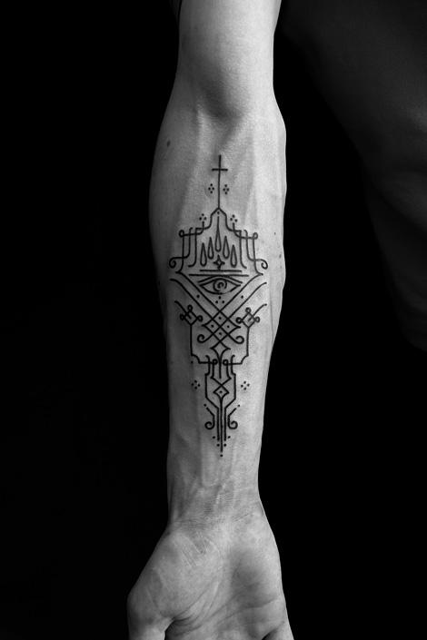 BURTON Jean-Philippe tattoos