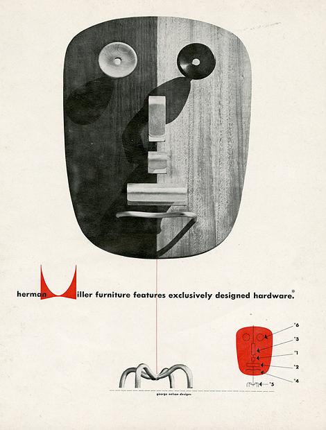 Herman Miller vintage ads