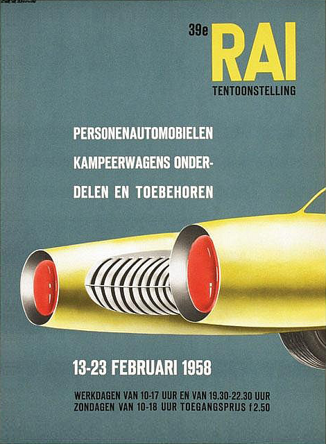 RAI poster, 1958