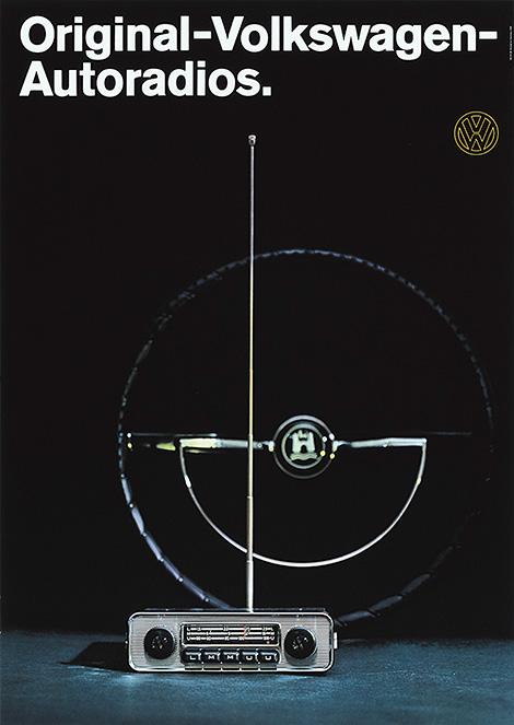 VW Radio poster