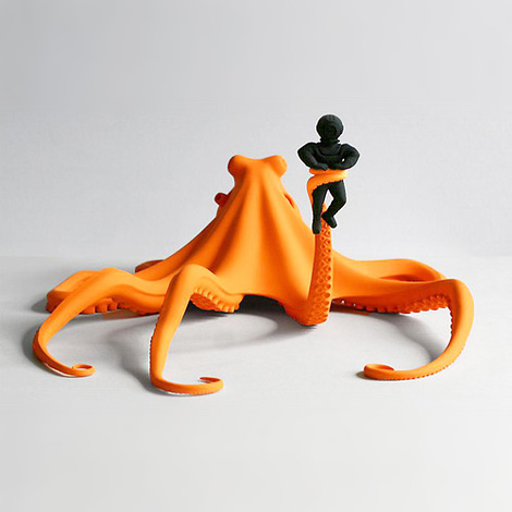 Katharina Fritsch: Oktopus