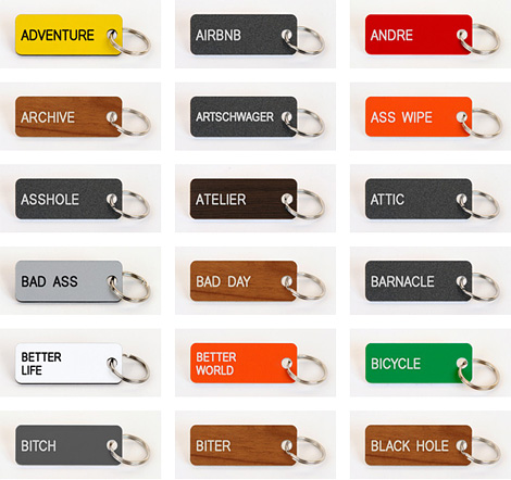 Various Keytags