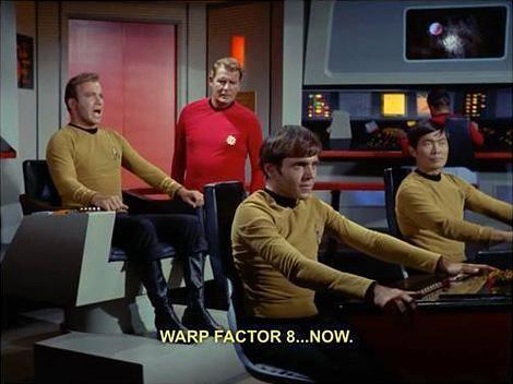Warp factor 8