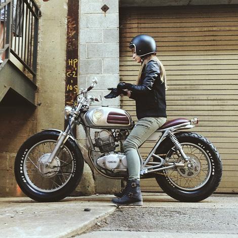 Yamaha SR-250 custom