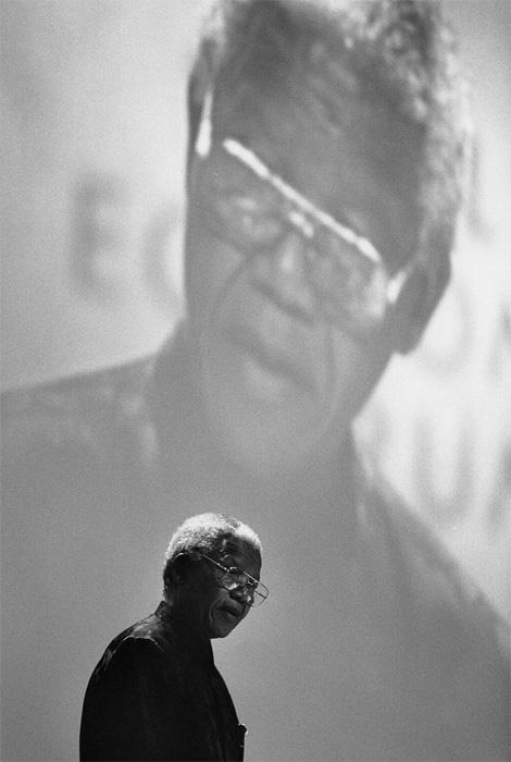 Nelson Mandela x Richard Kalvar