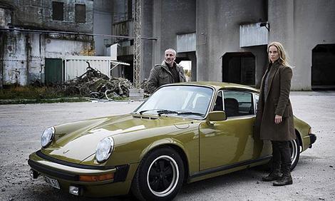Saga's Porsche