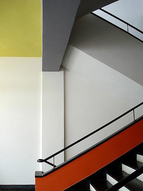 Bauhaus stairwell
