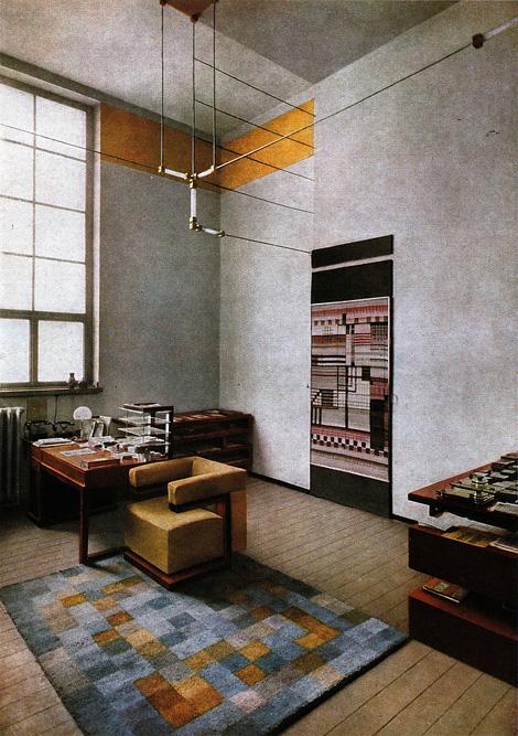 Walter Gropius' office
