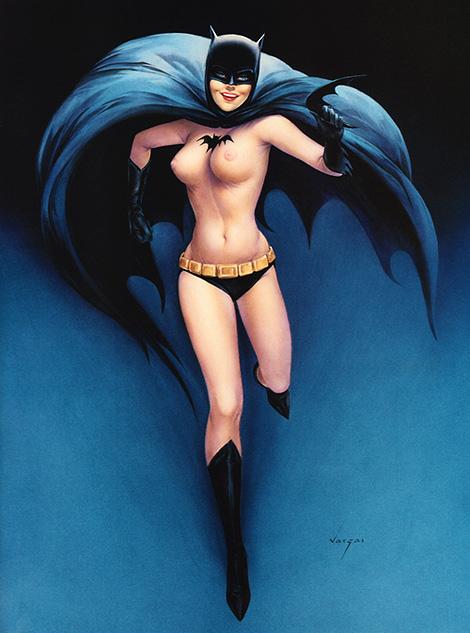 Batgirl x Vargas