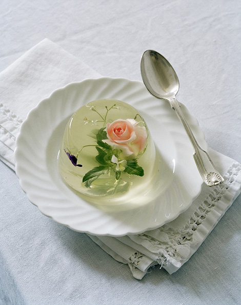Rosehip & Borrage Flower in Jelly
