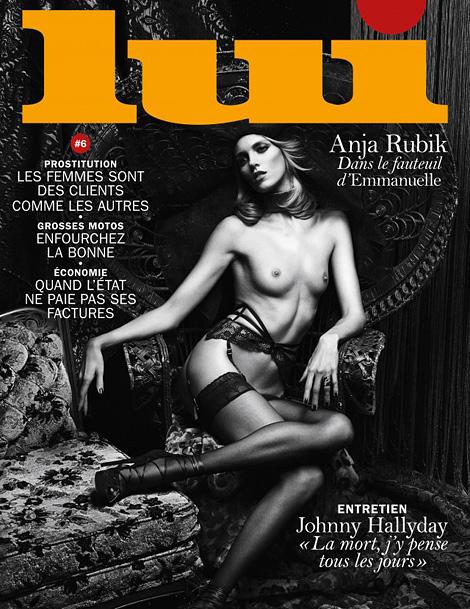 Anja Rubik x Lui
