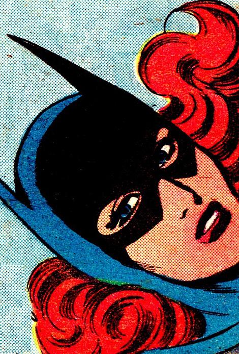 Batgirl closeup