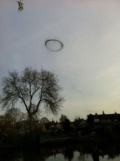 Black ring UFO