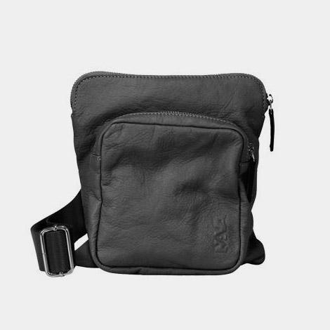 NAVA N_Leather shoulder bag
