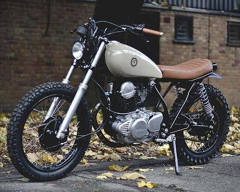 Yamaha SR250 custom x Auto Fabrica