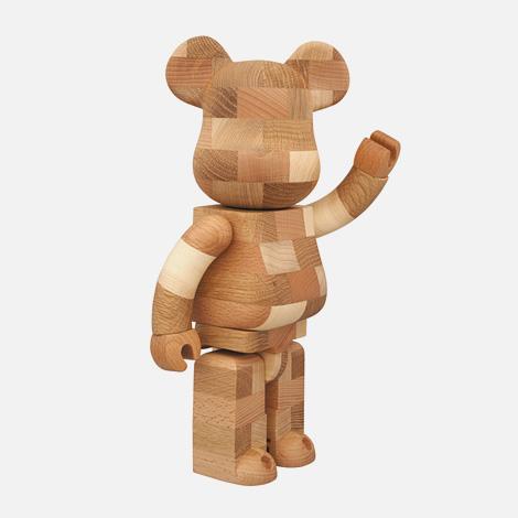 Karimoku x Medicom Toy 400% handmade Bearbrick