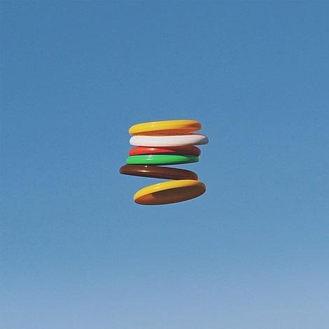 Burger Frisbees