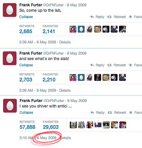 Frank N Furter tweets