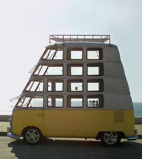 Multi-storey VW bus