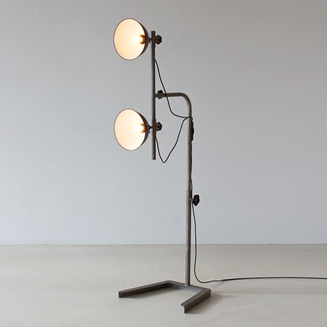 1950's photo lamps