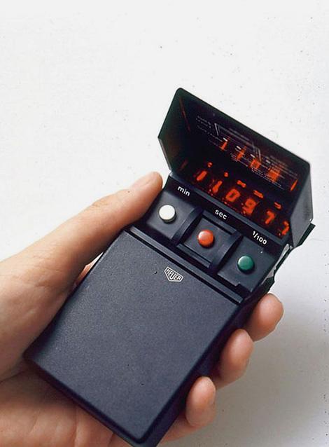 Heuer electronic stopwatch