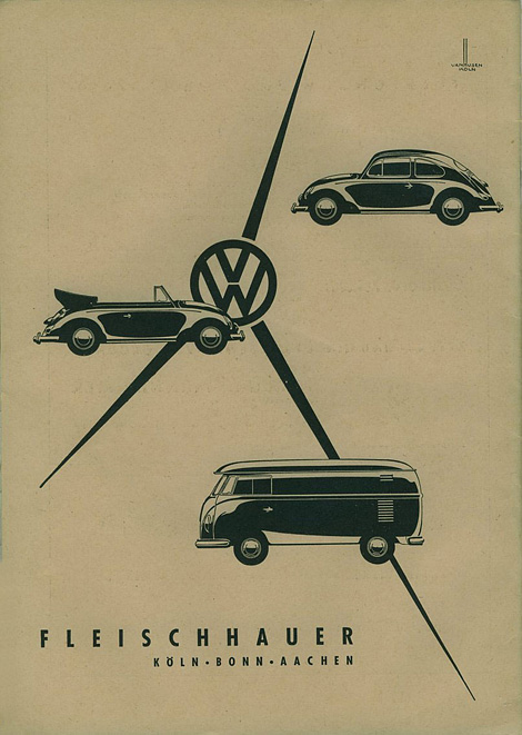 VW dealer ad, 1959