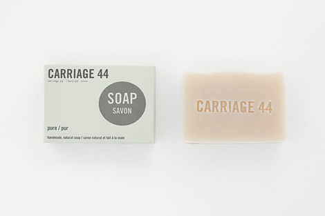 Carriage 44 natural soaps