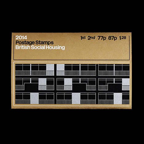 British Social Housing stamps