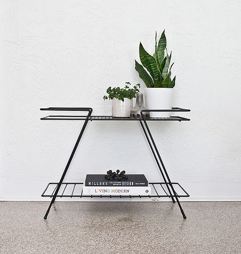 Mid-Century metal stand