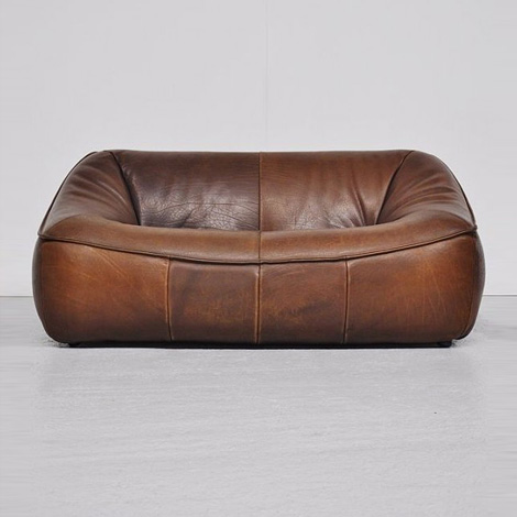 Mystery leather sofa
