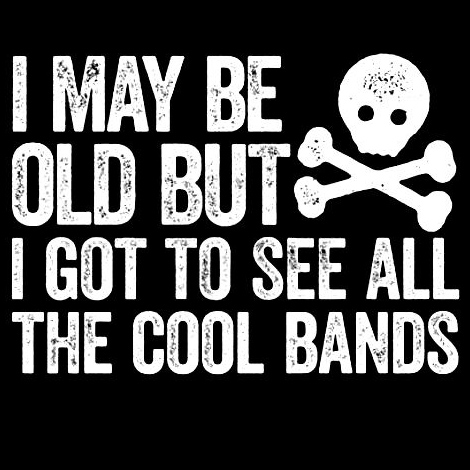 I may be old but…