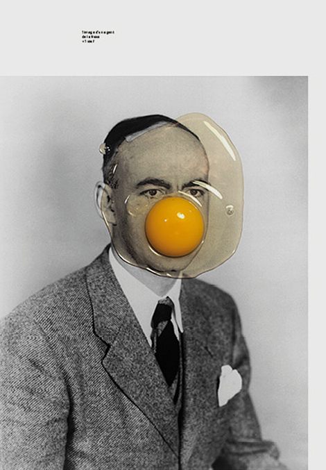 1 image d'un agent de la Nasa + 1 œuf