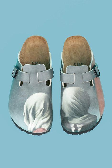 Magritte Birkenstocks