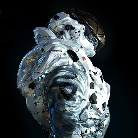 Concept spacesuit