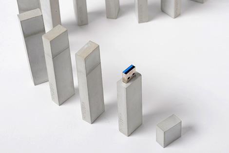 USBéton concrete USB stick