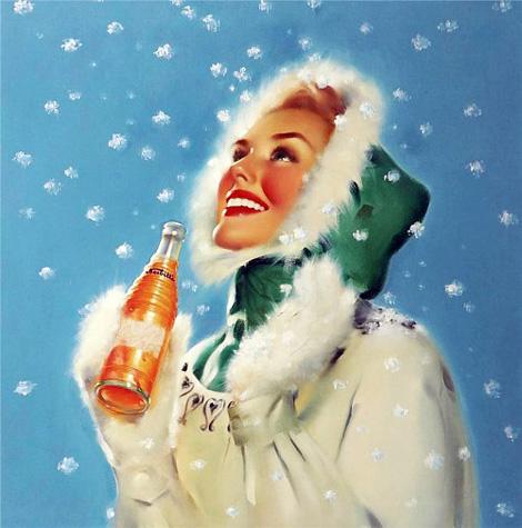 Nesbitt's Orange Christmas ad