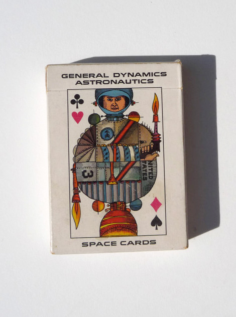 General Dynamics space cards