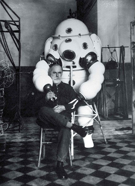 Vintage diving suit, 1935