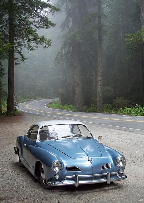 VW Karmann Ghia, 1955