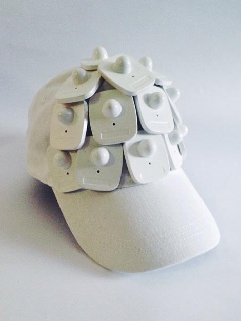 Security tag cap