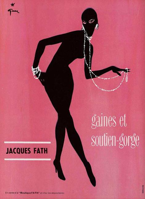 René Gruau: Jacques Fath