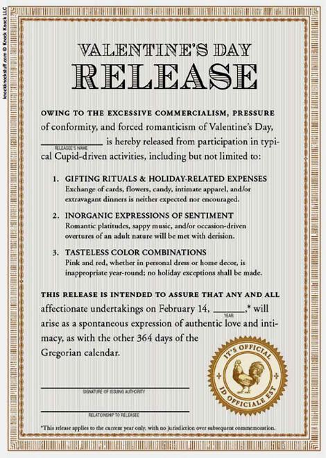 Valentine's Day release