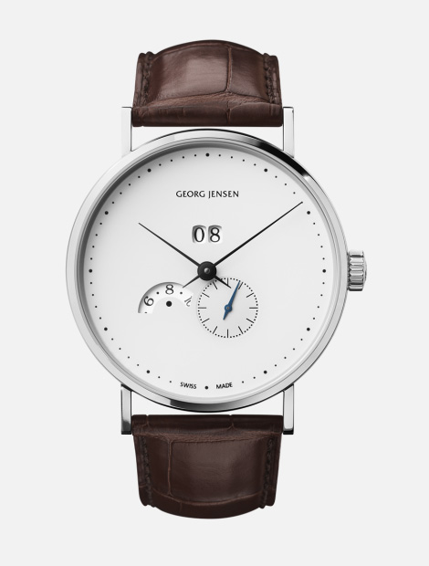 Koppel annual calendar watch