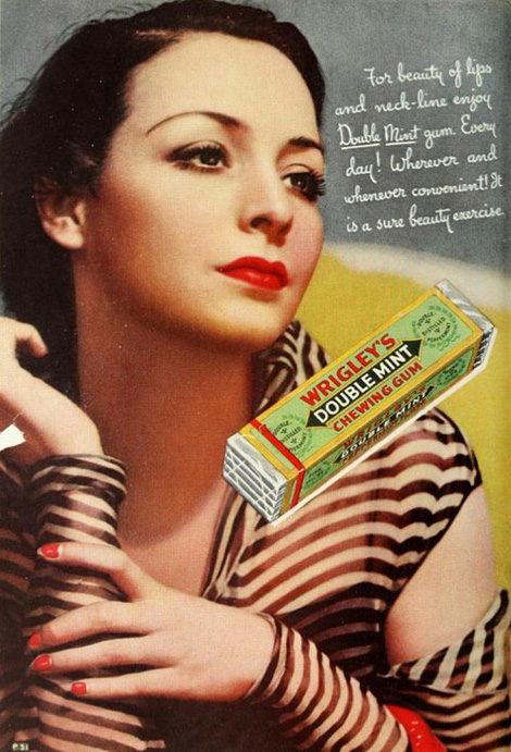 Vintage Wrigleys ad