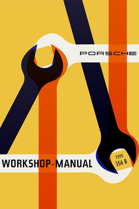Porsche 356-B manual