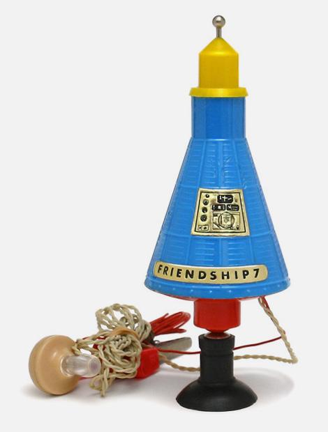 Mercury toy crystal radio