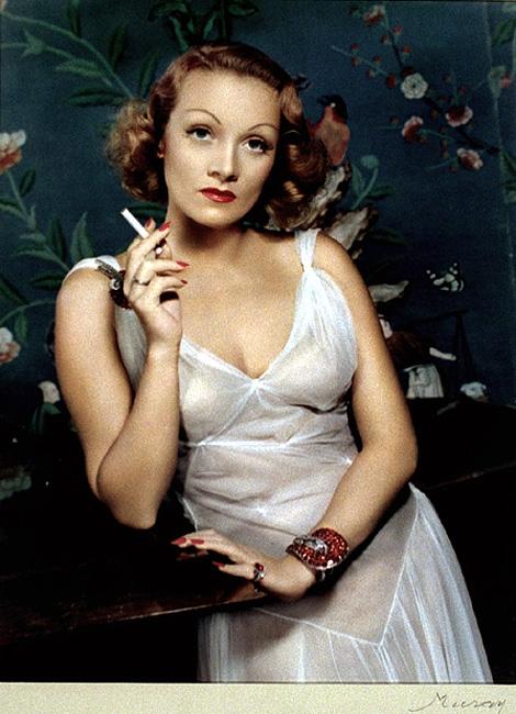 Marlene Dietrich x Nickolas Muray