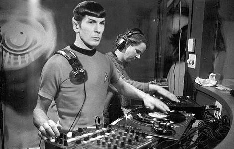 Spock in da house
