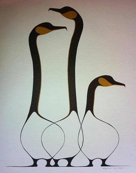 Three Loons